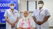 Laga bhi diya…: What PM Modi told nurse after receiving Covid-19 vaccine at AIIMS