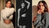 Shanaya Kapoor slays in black dress in new pics. Suhana Khan and Khushi say insane