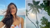 Shraddha Kapoor wishes Instafam good morning with a pic all the way from Maldives