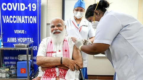 PM Modi, ministers gets Covid-19 shot, 24.5 lakh citizens sign for up vaccine in Phase 2
