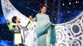 Hema Malini dances to Dream Girl with contestant Danish on Indian Idol 12