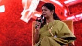 Kanimozhi defends Stalin as Karunanidhi's successor in DMK | India Today Conclave South