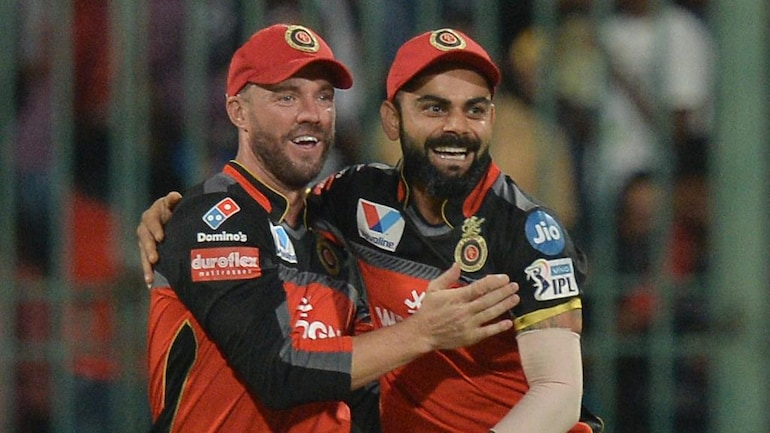 IPL 2021: AB de Villiers challenges Virat Kohli for a race after cheeky  question from RCB captain - Sports News