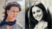 Akshay Kumar turns photographer for Nushrratt Bharuccha on Ram Setu sets