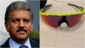 Anand Mahindra shares selfie with Axar shades after India's win, keeps his promise. Viral