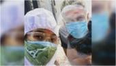 Covid-positive Milind Soman, in quarantine, had great fun on Holi. Ankita Konwar shares pics