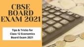 CBSE Board Exam 2021: Tips to score maximum marks in Class 12 economics board exam