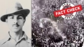 Fact Check: This is not the picture of Bhagat Singh's funeral. Know the story of his cremation