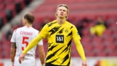 Sergio Aguero's departure triggers race between Manchester clubs to sign star striker Erling Haaland