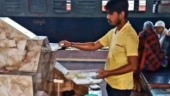 UP railway food stall shut for 7 days after worker caught on camera washing disposable plates