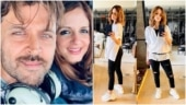 Sussanne Khan calls herself a boy in new pics in ripped jeans. Hrithik Roshan reacts