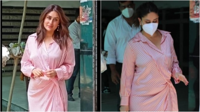 Kareena Kapoor Khan takes off mask for pics, but has a request for paps. Watch video - India Today