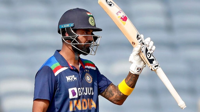 KL Rahul hit his 5th ODI hundred, first vs England in Pune (AP Photo)