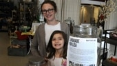7-year-old US girl sells lemonade to fund her own brain surgery