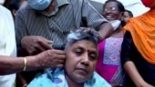 Denied party ticket, Kerala Mahila Congress chief Lathika Subhash resigns, shaves head in protest