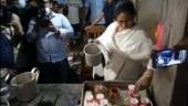 Mamata turns chaiwali in Nandigram, day before nomination   Watch