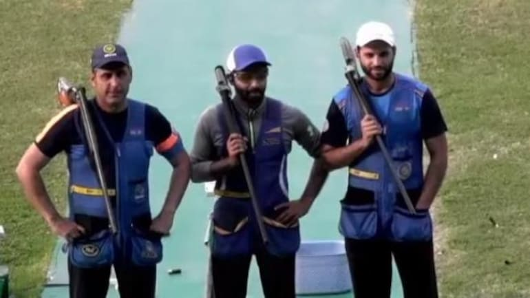 Shooting World Cup 2021: India win Gold in Men's Skeet team event, Women get Silver (Photo Courtesy: SAI)