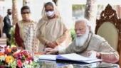 PM Modi visits Sheikh Mujibur Rahman's mausoleum in Bangladesh, pays tributes