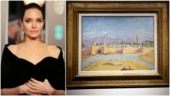 Angelina Jolie sells painting made by Winston Churchill for USD 11.5 million