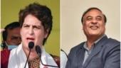 Congress always late in Assam: Himanta Biswa Sarma after Priyanka Gandhi 'runs' ahead of rally