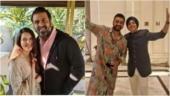 Harman Baweja's sangeet is all about bhangra. Raj Kundra dances to Diljit Dosanjh's song