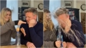 Gordon Ramsay's daughter plays an epic prank on him in hilarious video. Viral obviously