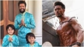 Riteish's superheroes, Riaan and Rahyl, have special birthday wish for Tiger Shroff
