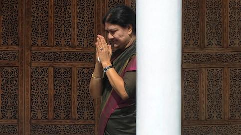 Sasikala retires from politics