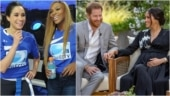 Serena Williams and other celebs support Meghan, Harry after Oprah interview. See tweets