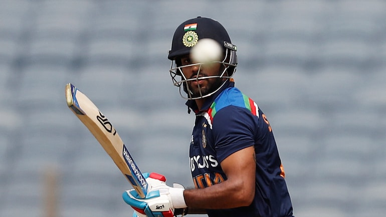 Ist ODI: Dhawan falls 2 short of 100, out in nervous 90s for 5th time (Reuters Photo)