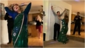 Iranian woman's dance on Sholay's Jab Tak Hai Jaan goes viral. Desi Twitter hearts video
