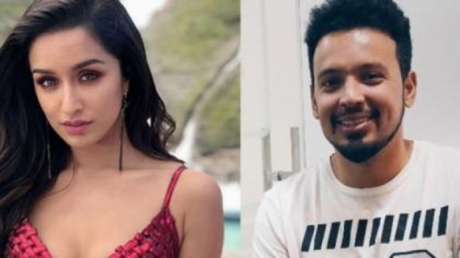Rohan Shrestha wraps hands around Shraddha Kapoor as she cuts birthday cake. Viral video - India Today