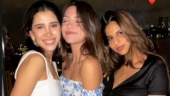 Suhana Khan in a pic with her friends all the way from New York