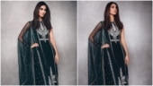 Vaani Kapoor in Rs 1.5 lakh velvet kurta and sharara set is at her traditional best. See pics