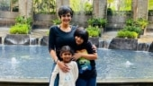 Mandira Bedi slams troll who calls her adopted daughter street kid from slumdog centre