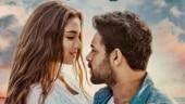 Varun Tej introduces Saiee Manjrekar, his lady love, in new Ghani poster