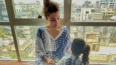 Soha Ali Khan in pic with daughter Inaaya says be grateful for what you have