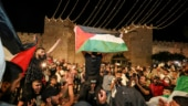 Palestinians cheer as Israeli barriers come down after Jerusalem Ramzan clashes
