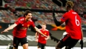 Europa League: Bruno Fernandes and Edinson Cavani net twice each as Manchester United crush AS Roma 6-2