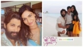 Allu Arjun rings in 38th birthday in Hyderabad. Wife Sneha wishes him with Maldives pics