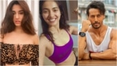Disha Patani's sister Khushboo nails the battle rope exercise. Tiger Shroff is impressed