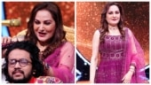 Jaya Prada gives champi to Indian Idol 12 contestant Nihal after his performance