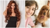 Disha Patani whispers in her dog Bella's ear, kisses her adorably