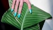 Jean Paul Gaultier's leaf clutch leaves netizens amused. Best reactions