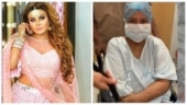 Rakhi Sawant's mom catwalks in hospital after successful operation. Watch