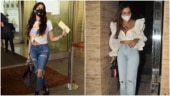 Janhvi Kapoor, Malaika Arora and other celebs make distressed denims look uber-chic. Take notes