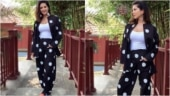 Sunny Leone in Rs 9k long shirt and comfy pants redefines casual fashion for new photoshoot