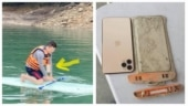 Man finds iPhone he lost inside Taiwan lake after a year, it still works. See post