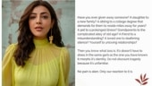 Kajal Aggarwal urges people to stay home and not overburden our health care system
