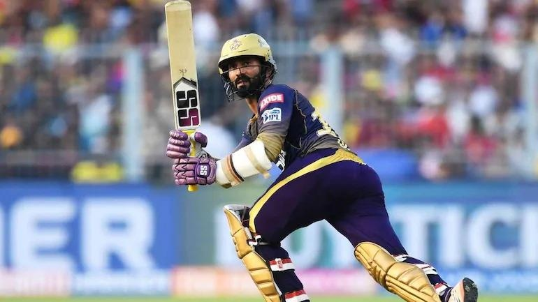 Kolkata Knight Riders star Dinesh Karthik. (AFP Photo)